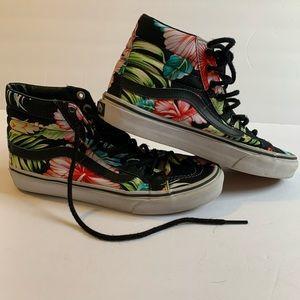 Vans Floral Hawaain Sk8 Hi-Top